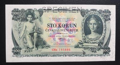 100 korun 1931,serie CHa perf. TOP stav UNC !!!