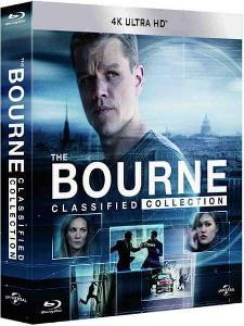 Bourneova kolekce 1-5 Limitovaná edice 4K UHD Blu-ray
