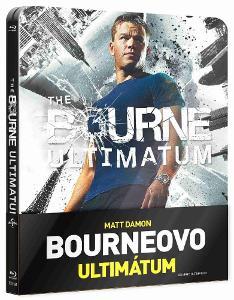 Bourneovo ultimátum - Blu-ray Steelbook