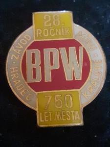 Odznak cyklistika 28.ročník Závod Míru BPW H.Králové