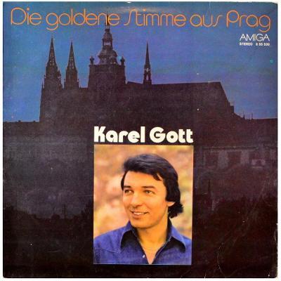 Gramofonová deska KAREL GOTT - Die goldene stimme aus Prag