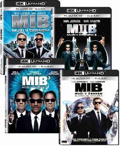 Muži v černém 1-4 kolekce 4K UHD Blu-ray + Blu-ray (8BD)