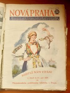 Staré tisky rok 1925 - Nová Praha a Mezinárodní obchod