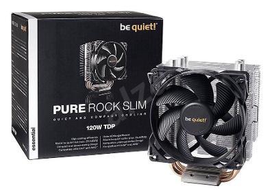 Nový Značkový univezální chladič CPU Be quiet! Pure Rock Slim origo z.