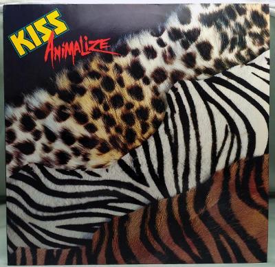 Kiss – Animalize 1984 Germany Vinyl LP 1.press