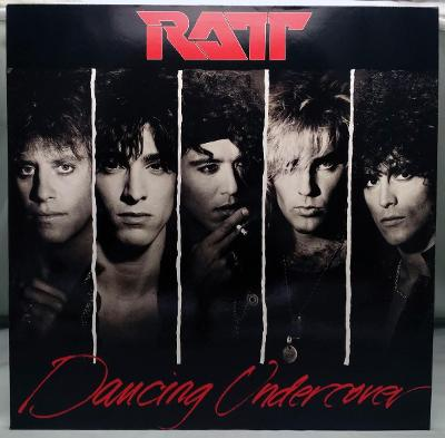 Ratt – Dancing Undercover 1986 Germany Vinyl LP 1.press
