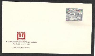 Celinová obálka, COB23, Praga 1968 **