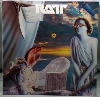 Ratt – Reach For The Sky 1988 Germany Vinyl LP 1.press