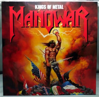 Manowar – Kings Of Metal 1988 Germany Vinyl LP 1.press