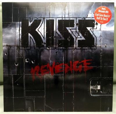 Kiss – Revenge 1992 Germany Vinyl LP 1.press