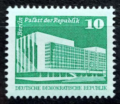 DDR: MiNr.2484 Republic Palace, Berlin 10pf * 1980