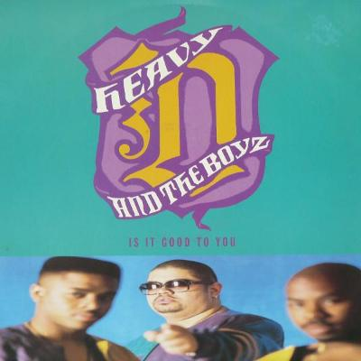 "LP - HEAVY D. & THE BOYZ - Is It Good To You (12""Maxi singl)´1991 UK"