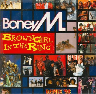 """LP- BONEY M. - Brown Girl In The Ring - Remix '93 (12""""Maxi singl) UK"""