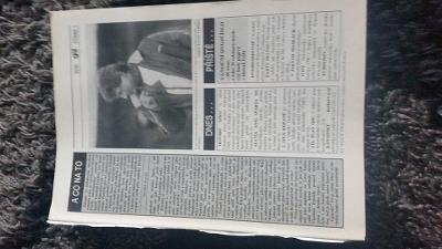 Časopis Gól - ročník 1995 - 37 čísel