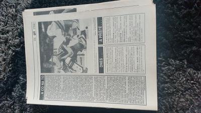 Časopis Gól - ročník 1993 - 17 čísel