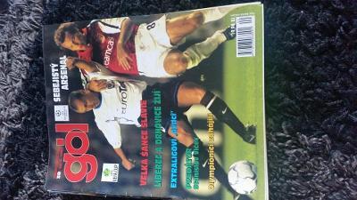 Časopis Gól - ročník 2000 - 16 čísel