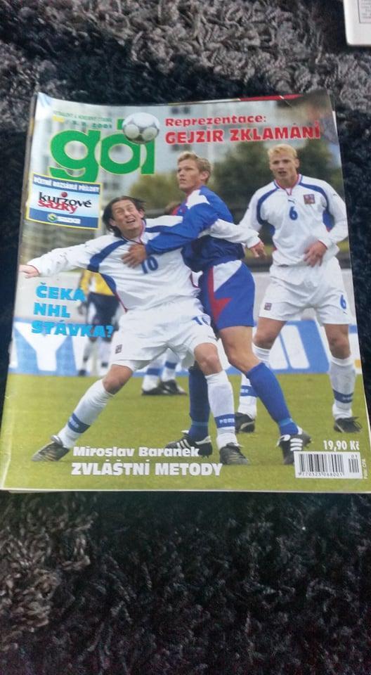 Časopis Gól - ročník 2001 -34 čísel - Časopisy