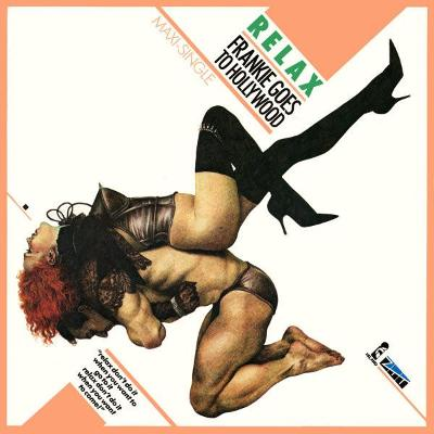 """LP- Frankie Goes To Hollywood - Relax (12""""Maxi singl)´1983 UK Press"""