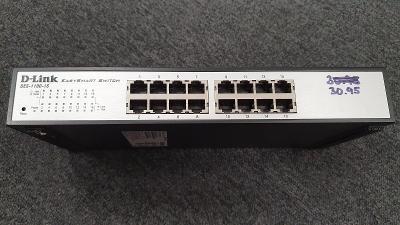 Smart Switch DLINK DES-1100-16  - 16x 10/100 Mbit + management