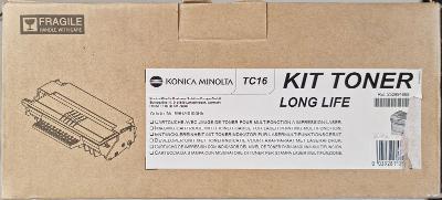 Originální toner kazeta Konica Minolta TC16 Black (černá)