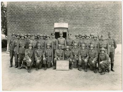 Foto - Kompanie vojaku Wehrmachtu