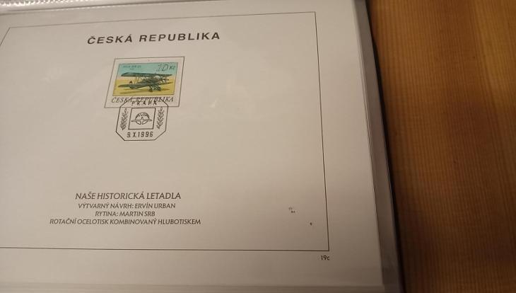 Nálepní listy ČR - 1996, 1997, 1998 + nové album Leuchturm Sleva! - Filatelie
