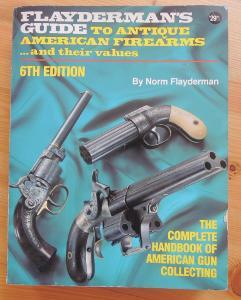 Kniha: Flayderman´s guide to Antique American Firearms. 640 stran !!!