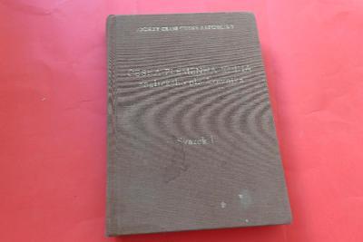 Česká plemenná kniha anglického plnokrevníka I. (1997, Jockey Club)