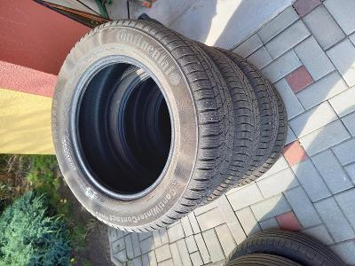 Použité zimní pneu (bez disků) 215/60 R 16 - 4ks