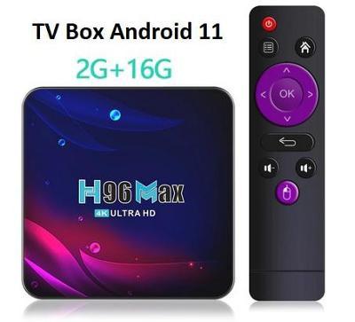 TV Box H96 MAX V11 Android 11 2/16GB 2.4G 5.8G WIFI 4K