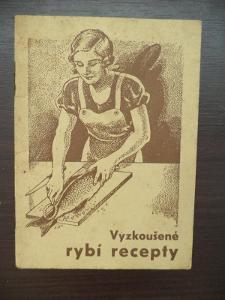 Vyzkoušené rybí recepty - brožura v zadní části s reklamou Maggi-ho vý