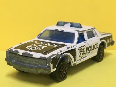 policejní Chevrolet Impala - Majorette 1/69  (H4-b16)