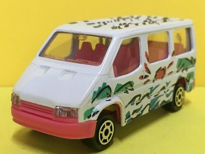 Ford Transit - Majorette 1/60  (H4-b23)
