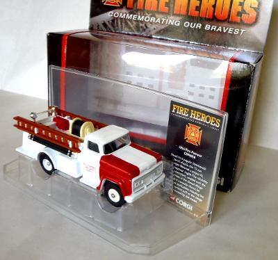 Hasiči - kovový model CORGI - 1966 Fire Pumper Baltimore, MD.
