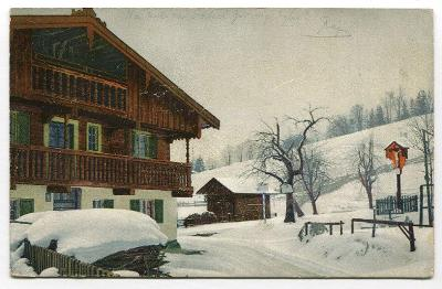 BESKYDY - horská chata v zimě Krásno nad Bečvou ?