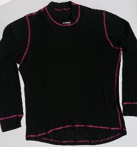MOIRA MONO černé funkční triko dl. rukáv vel. XL