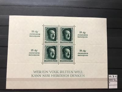DR, Deutsches Reich, Mi. Block 11