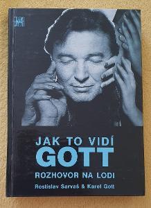 Karel Gott - Jak to vidí Gott, rozhovor na lodi, nová kniha