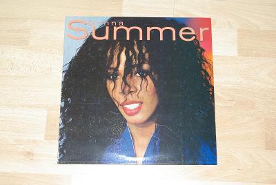 LP deska DONNA SUMMER - královna disco hudby