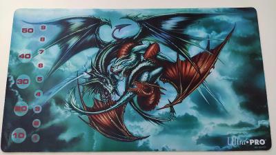 Herní podložka playmat draci