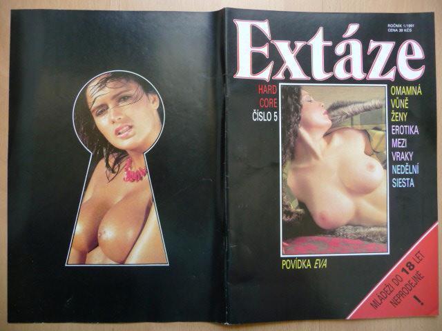 Erotický časopis - EXTÁZE - číslo 5 z roku 1991 - Erotická literatura
