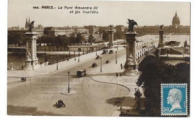 Pohlednice, Paříž, Francie, MF, 4/69