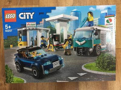 LEGO City 60257 Benzínová stanice - nová stavebnice