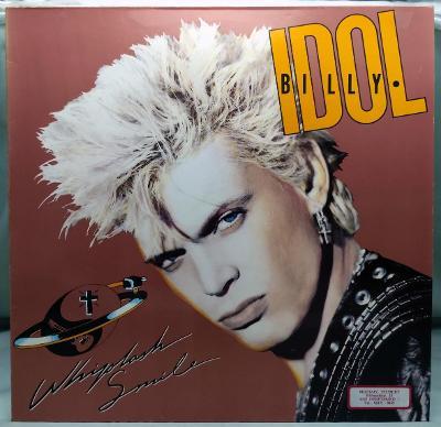 Billy Idol – Whiplash Smile 1986 Germany Vinyl LP 1.press
