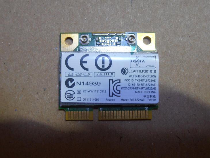 Wifi karta  - Toshiba Satellite C850   - Notebooky, příslušenství