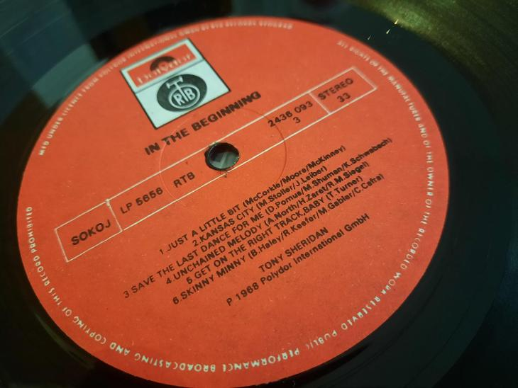 2LP - The Beatles and Tony Sheridan. In the beginning. - Hudba