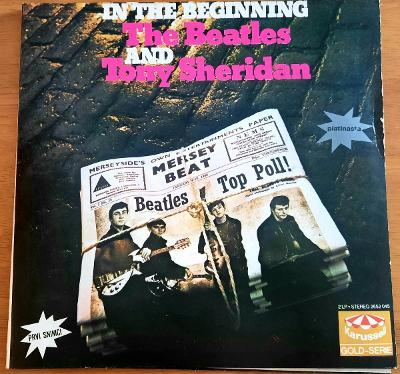 2LP - The Beatles and Tony Sheridan. In the beginning.