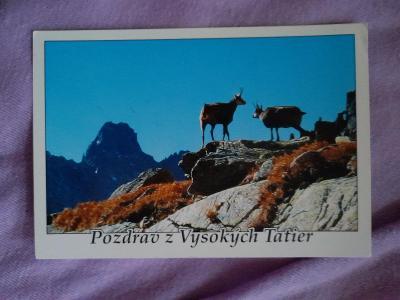 Pohlednice Pozdrav z Vysokých Tatier,prošlé poštou
