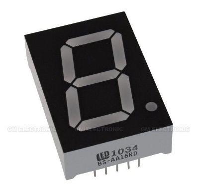 LED displej 25,4mm červený Arduino