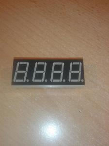 LED Displej 10,mm červený Arduino
